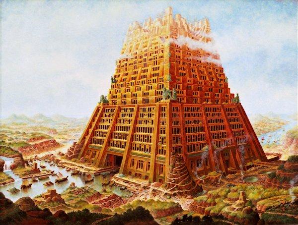 Tour de Babel - Raoul Giordan