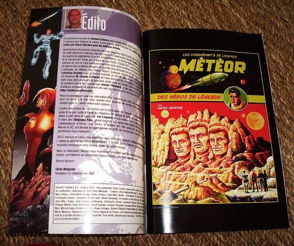 Météor édité en couleur RS02a