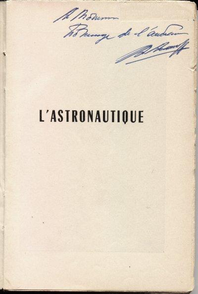 Votre dernière folie... - Page 3 Astronautiquelivre