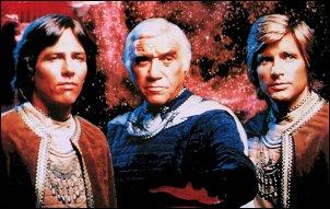 Les séries «SF» à la télévision Galactica