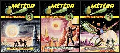 Météor en allemand Meteor818283