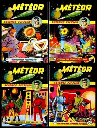 Météor en allemand Meteordeutschebay