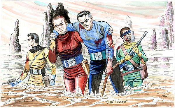 Repli sur Space Girl - Raoul Giordan